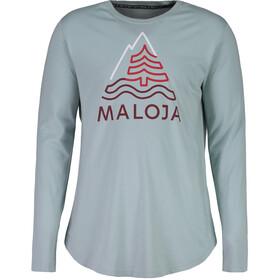 Maloja PradelsM. Maglietta maniche lunghe Uomo, cliff